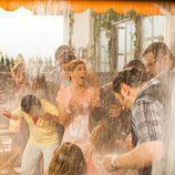 Los vecinos de Montepinar se mojan en el especial del capítulo 100 de 'La que se avecina'