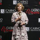 Pilar Cernuda en las Antenas de Oro 2014