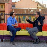 Alberto Garzón y Risto Mejide en 'Viajando con Chester'