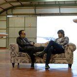 Melendi y Risto Mejide en 'Viajando con Chester'