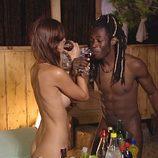 Coman y Esther en 'Adán y Eva'