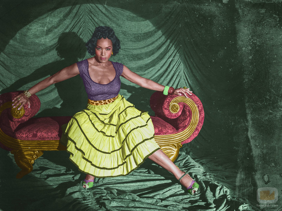 Angela Basset es Desiree Dupree en 'American Horror Story: Freak Show'