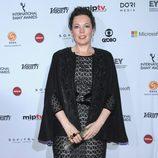 Olivia Colman en los Emmy Internacional 2014