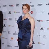 Christina Hendricks en los Emmy Internacional 2014
