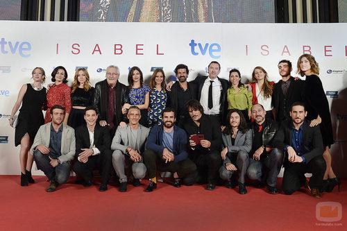 Los actores de 'Isabel' despiden la serie