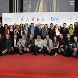 El equipo de 'Isabel' despiden la serie