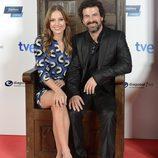 Michelle Jenner y Rodolfo Sancho despiden 'Isabel'