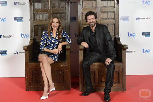 Michelle Jenner y Rodolfo Sancho en los cines Capitol