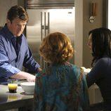 Martha, Richard y Alexis en la séptima temporada de 'Castle'