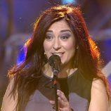 Ángeles Muñoz integrante del grupo Camela canta en 'Killer Karaoke'