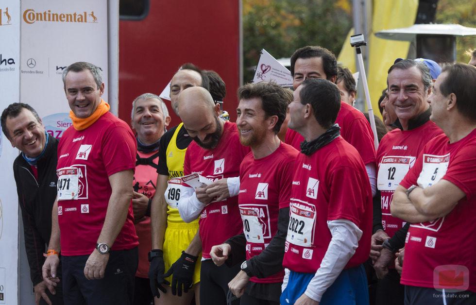 """Diversos rostros de Antena 3 en la carrera """"Ponle freno"""""""