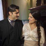 Adriana Ugarte y Alex Garía en la miniserie de TVE 'Habitaciones cerradas'