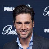 David Bustamante posando en el photocall de los Premios 40 Principales 2014