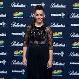 Ruth Lorenzo posando en el photocall de los Premios 40 Principales 2014