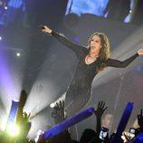 Malú cantó una de sus éxitos en los Premios 40 Principales 2014