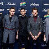 One Direction en photocall de los Premios 40 Principales 2014