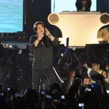 Vamps durante su actuación en los Premios 40 Principales 2014