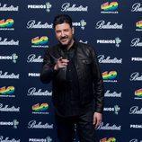 Tony Aguilar en el photocall de los Premios 40 Principales 2014
