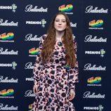 Birdy en el photocall de los Premios 40 Principales 2014