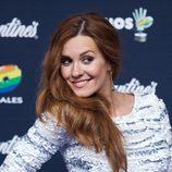 Elena Ballesteros en los Premios 40 Principales 2014