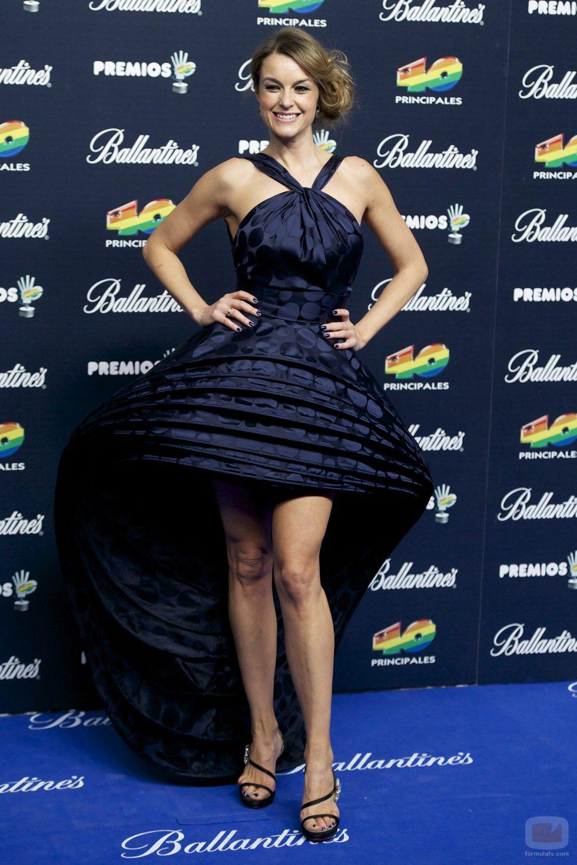 Monica Martínez Premios 40 principales 2014