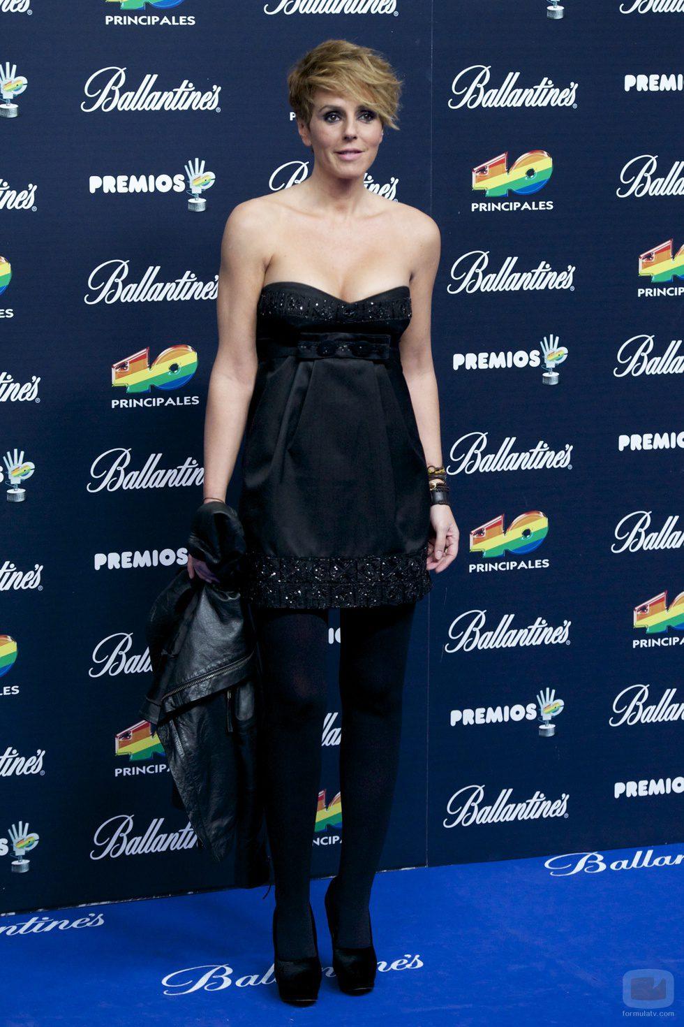 Rocio Carrasco en los premios 40 principales 2014