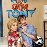 Iván Massagué y Antonia San Juan en 'Gym Tony'