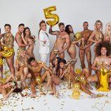 17 concursantes de realities se desnudan para recibir el año 2015 en Primera Línea