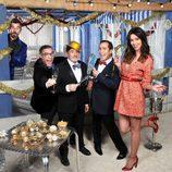 Dafne, Jesús, El Langui y Adrián dan las Campanadas en Telecinco