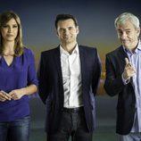 Sandra Sabatés, Iñaki López y Carlos Sobera en