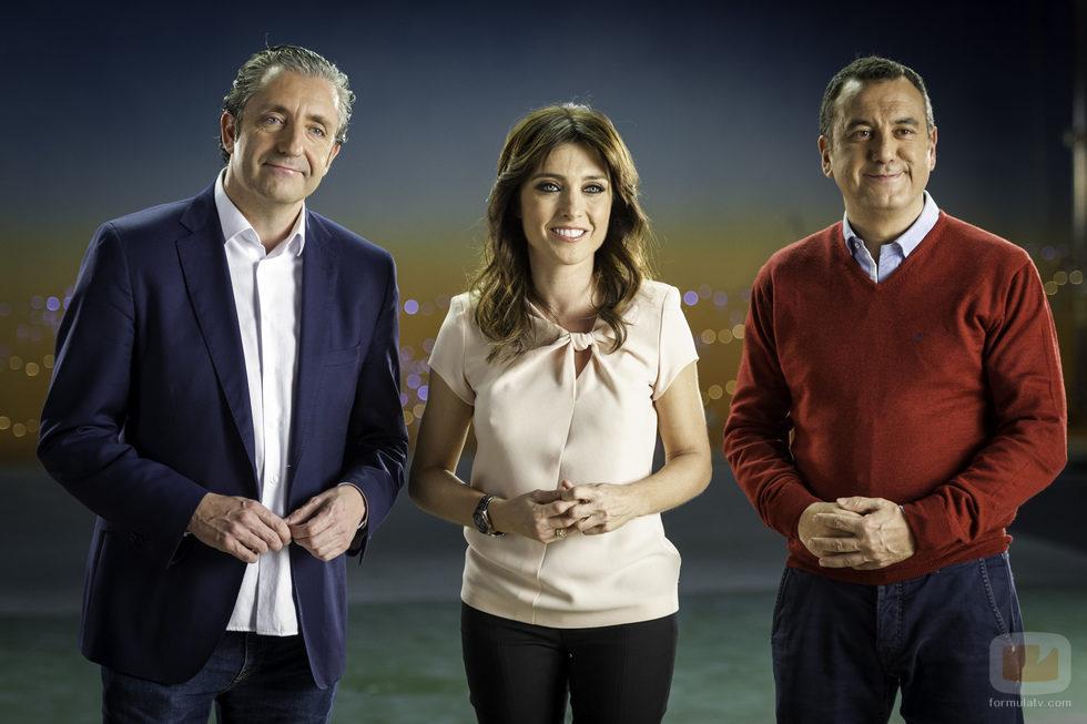 """Josep Pedrerol, Helena Resano y Roberto Brasero en """"Regálate tú"""""""