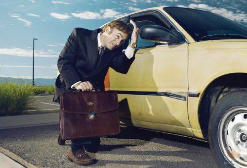 Bob Odenkirk en una foto promocional de 'Better Call Saul'