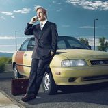 Saul Goodman en una foto promocional de 'Better Call Saul'