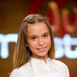 Claudia, participante de 'MasterChef Junior'
