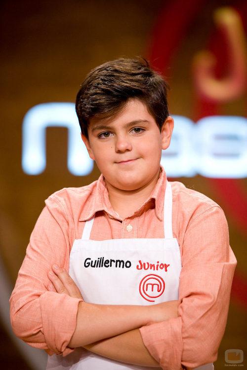 Guillermo, participante de 'MasterChef Junior'