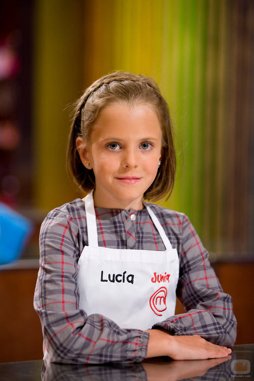 Lucía, concursante de 'MasterChef Junior'