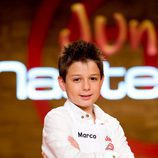 Marco, integrante de 'MasterChef Junior'