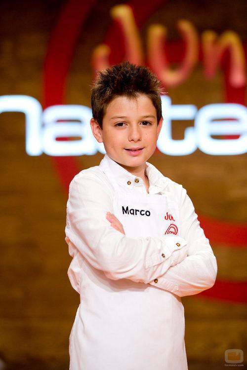 Marco, integrante de 'MasterChef Junior'