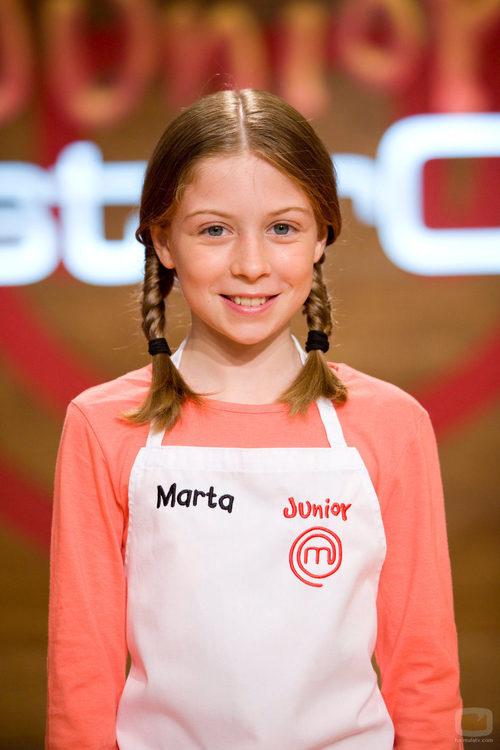 Marta, participante de 'MasterChef Junior'