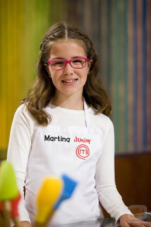 Martina, participante de 'MasterChef Junior'