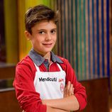 Mendicuti, concursante de 'MasterChef Junior'