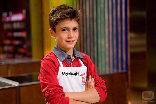 Mendicuti, concursante de 'MasterChef Junior'
