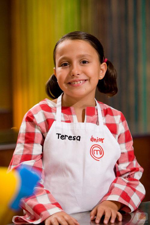 Teresa, participante de 'MasterChef Junior'