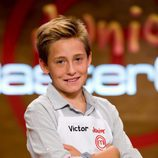 Víctor, integrante de 'MasterChef Junior'