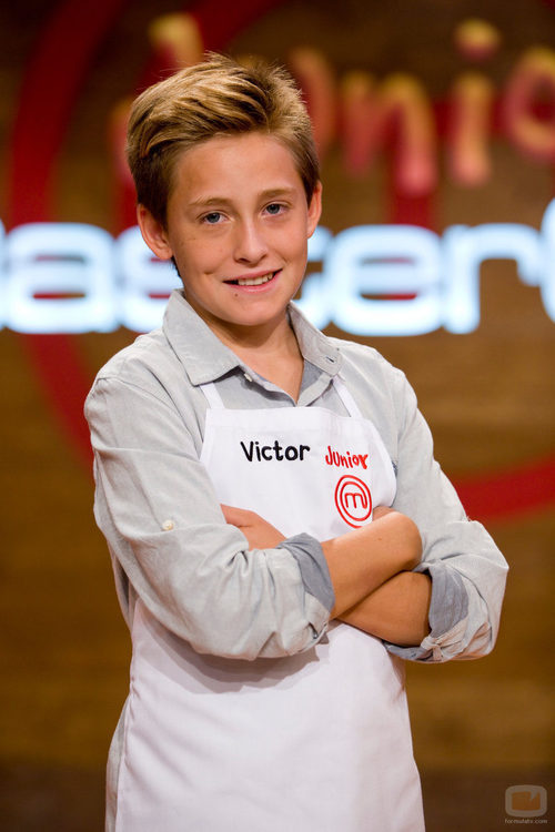 Víctor, integrante de 'MasterChef Junior'