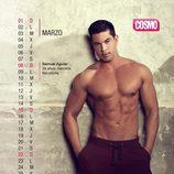 Samuel Aguiar es marzo en el Calendario de Hombres 2015