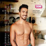 José Coronado es mayo en el Calendario de Hombres 2015