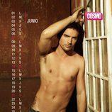 Alejandro Corzo es junio en el Calendario de Hombres 2015
