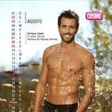 Enrique López es agosto en el Calendario de Hombres 2015
