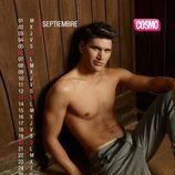 Ángel Cárceles es septiembre en el Calendario de Hombres 2015